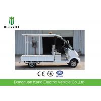 White Color 4kW Electric Sightseeing Car , Spacious 8 Seater Electric Car Manufactures