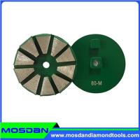 China 10 Segments Metal Ginding Disc with 2 pins on sale