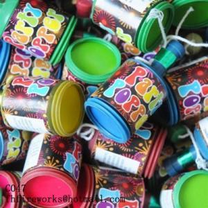 party pop popper fireworks
