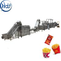 Factory Outlet Small Scale French Fries Maker Keripik Pisang Banana Snack Making Machine French Fries Fryer Manufactures