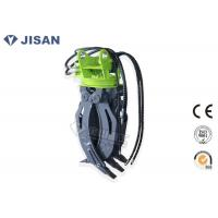 5 Tooth Excavator Rock Grab 1400mm Jaw Opening Hydraulic Power CE Certified Manufactures