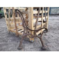 Custom Outside Wrought Cast Iron Bench Ends / Cast Iron Garden Furniture Manufactures