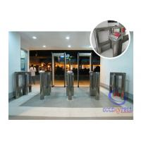 Luxury Shape Speed Gate Security Half Height Turnstiles For Fitness Manufactures