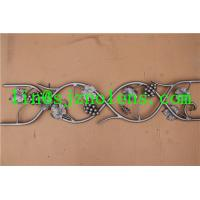14mm  Steel Round Bar  H1000*W200 MM Wrought Iron Balustrades, Iron Railings Panels and Pickets Manufactures