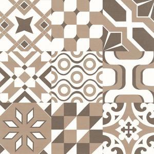 China Creative Decorative Porcelain Floor Tile Self Adhesive Formaldehyde Free Dustproof on sale