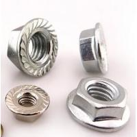 China Galvanized Yellow Zinc Heavy Hex Nuts Hexagon Nuts With Flange Kep Nut on sale