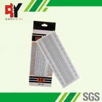Solderless Pure White Electronic Breadboards Without Color Printed Manufactures