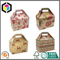 Gable Shape Matte Color Printing Paper Box; Gable Paper Packaging Gift Box Manufactures