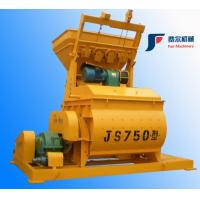 China 750 Liter Twin Shaft Concrete Mixer , Industrial Cement Mixer For Construction on sale