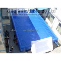 Kids / Adults Inflatable Soccer Field Playground Outdoor Sports Manufactures
