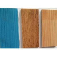China Wooden Laminated PVC Sports Flooring Gym Floor Covers For Ping Pong / Volleyball Hall on sale