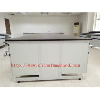 3000 mm White Anti Strongest Corrosion / Acid / Alkali Wood Lab Benches Furniture for University / College Laboratory Manufactures