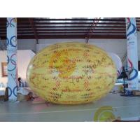Gaint Inflatable Melon Fruit Shaped Balloons UV Printing 4m Long Manufactures