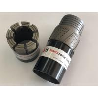 Wireline Impregnated Diamond Core Bits With 10mm / 12mm / 14mm Crown Height Performance Manufactures