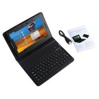 Small Dimension Protective PU Leather Case Bluetooth Keyboard For Blackberry Playbook Manufactures