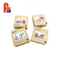 China Recyclable Featuring Flexo Printing FSC BSCI Standard Kraft Paper Packaging Box on sale
