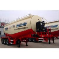 Tri Axle Bulk Cement Trailer for Transporting with Common Suspension Manufactures