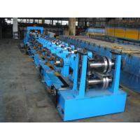 C Purlin Roll Forming Equipment  / Cold Roll Forming Machine With Gearbox Drive For Steel Manufactures