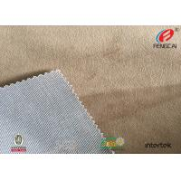 Quality 100% Polyester Knitted Super Soft Crushed Velvet Upholstery Fabric For Sofa for sale