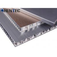 Buy cheap Anodized Construction Aluminum Profile Aluminum Honeycomb Panel With Brushed from wholesalers