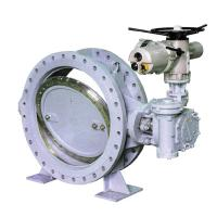 Soft Seal Electric Double Flange Butterfly Valve Manufactures