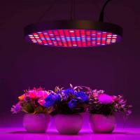 Marijuana UFO LED Grow Lights With Alluminum / PC Materials , Dia 33x H3 cm Manufactures