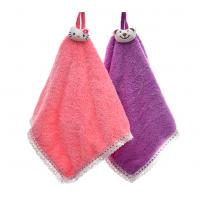 CORAL SQUARE WASH TOWEL (WITH LATCH  HOOK ) Manufactures