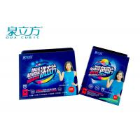 Laundry Sheets Detergent Washing Soap Formula , Laundry Sheets For Travel Use Manufactures