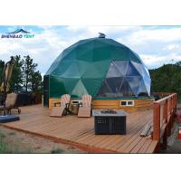 Waterproof Pvc Coated Army Dome Tent Easy Camp House For Outdoor Manufactures