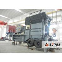 Customized Two Stage Mobile Crushing Plant / Mobile Jaw Crusher For Mining for sale