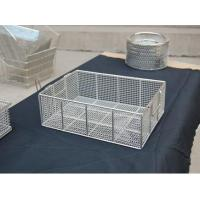 China fruit washing baskets stainless steel 304 wire on sale