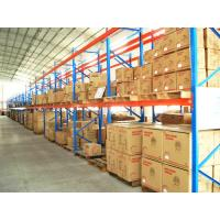 Cold Rolled Adjustable Heavy Duty Pallet Racking , Industrial Shelving Systems Manufactures