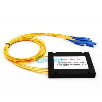 1x4 SC/PC 3.0mm Fiber Cable Splitter Insertion Loss <0.3dB With ISO Compliant Manufactures