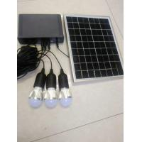 solar home power system with LED 3W bulbs switch cable solar lithium home Manufactures