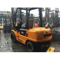 Max Lifting 3m China Used Diesel Forklift H3 Manufactures