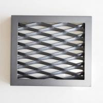 Framed Powder Coating Expanded Mesh Ceiling Panels Manufactures