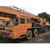 TADANO TG-500E Second Hand Cranes , 50 Ton Second Hand Truck Cranes Nissan Diesel for sale