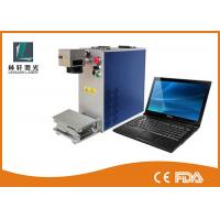 Precision 2D Metal Laser Marking Machine Air Cooling For Silver Bracelet Ring Manufactures