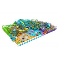 Large Scale Kids Indoor Playground Equipment With Multi Function Areas KP151216 Manufactures