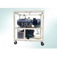 Double Stages High Vacuum Pump System Combination For Electrical Equipment Air Dryer Manufactures