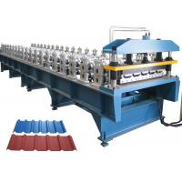 Roofing Sheet Roll Forming Machine , Roofing Corrugated Sheet Roll Forming Machine Manufactures