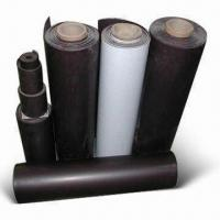 Flexible Magnetic Rolls with 1,000mm Maximum Width and 0.25 to 10mm Thickness Manufactures