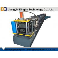 Buy cheap 1000mm Coil Sheet Rain Gutter Making Machine With Panasonic / Siemens PLC Control System from wholesalers