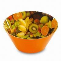 Popcorn Bowl/Candy Bowl, Made of 100% Melamine, Customized Designs are Accepted Manufactures