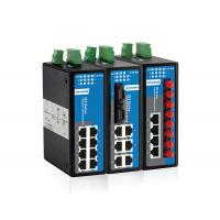 DIN-Rail mounting 8-port layer2 Managed Industrial Ethernet Switch Manufactures