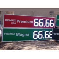 12 Inch Outdoor Electronic digital gas price signs For Oil Stations , long Lifetime Manufactures