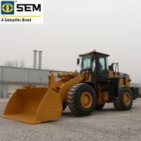 China Single Stage Heavy Earth Moving Machinery SEM 6 Ton Wheel Loader SEM660D  4.5m³ Bucket on sale
