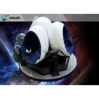 Gorgeous Splendid Outdoor 9D VR Cinema 360 Degree Rotation Customize Manufactures