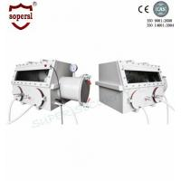 Biochemictry Laboratory Glove Box with Pressure Control System Manufactures