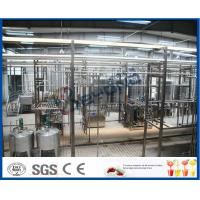 China 1500LPH UHT Milk Processing Line , Milk Powder Fresh Milk UHT Dairy Processing Plant on sale